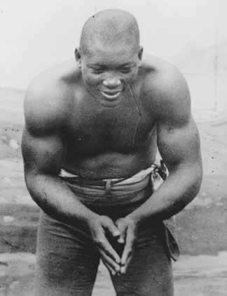 Heavyweight champion Jack Johnson in his prime