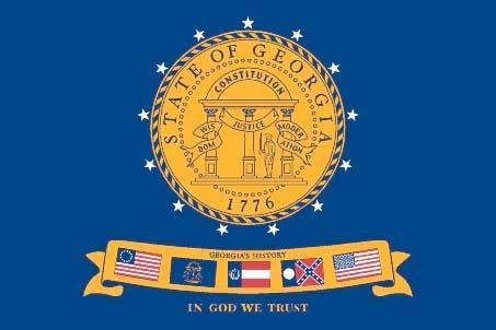 Georgia Barnes Flag