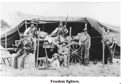 Boer Freedom Fighters
