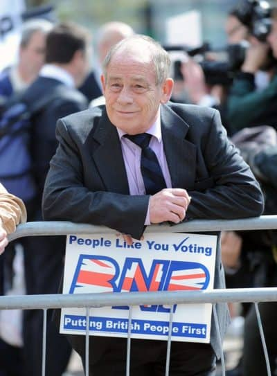 British National Party Activist