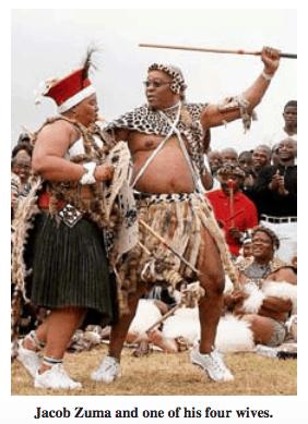 Jacob Zuma and Wife