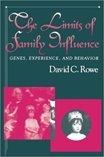 The Limits of Family Influence by David C. Rowe
