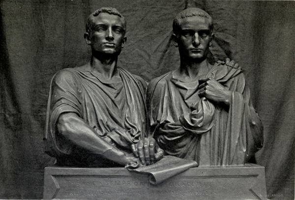 The Gracchi were brothers who served as tribunes. Elected by the plebs, they could veto most government acts in Ancient Rome.