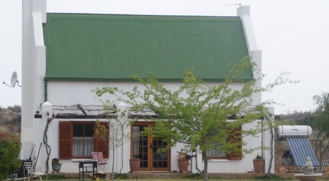 A home in Orania with a solar boiler.
