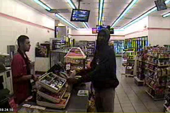 Surveillance image of Trayvon Martin just prior to the incident.