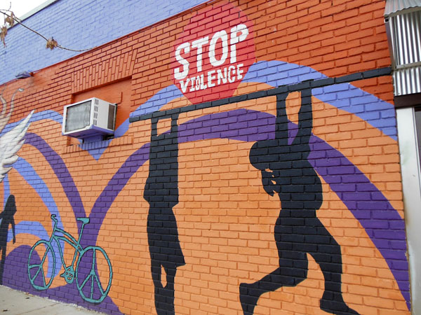 Stop Violence Mural