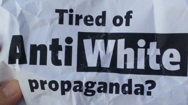 Tired of Anti-White Propaganda