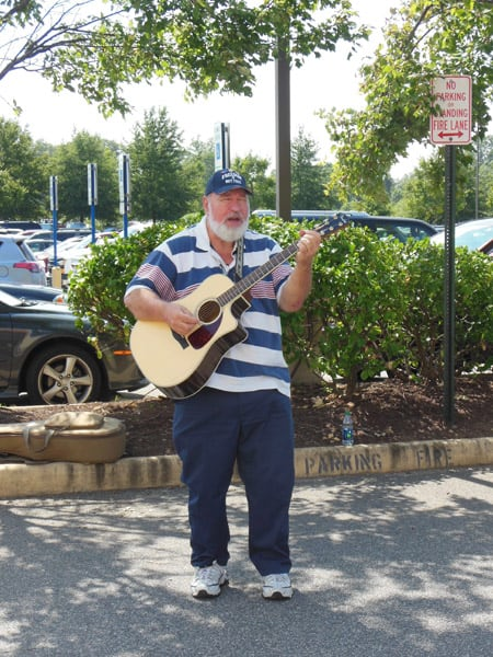 Veteran singer