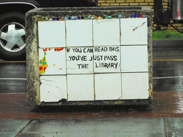 Anacostia Library Error
