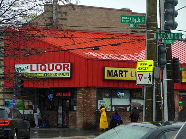 Anacostia Liquor Store