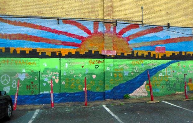 Anacostia Liquor Store Mural