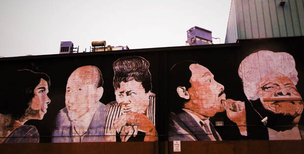Anacostia Mural with MLK