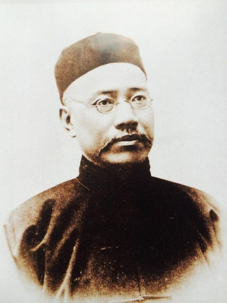 Yan Fu became enamored with social Darwinism while studying inEngland.