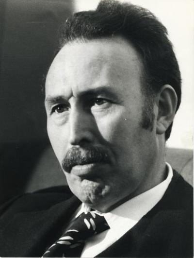 Algerian President Houari Boumedienne