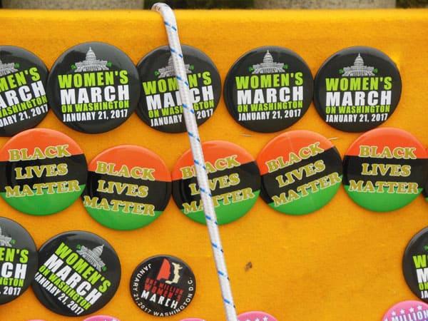 Black Lives Matter pins