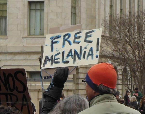 Free Melania from Donald Trump