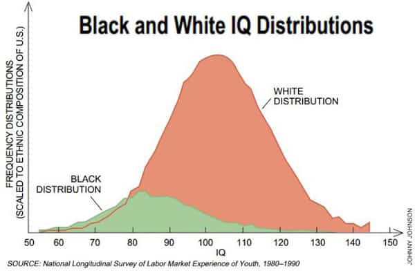 Black - White IQ Distribution