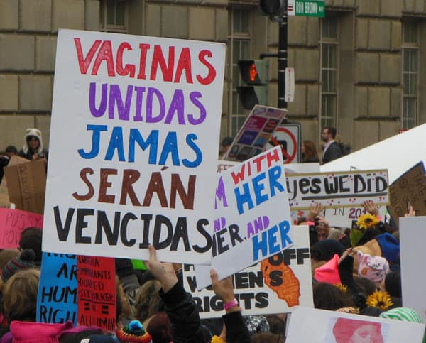 Vaginas Unidas Jamas Seran Vencidas