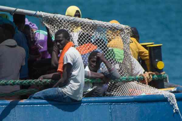 African Migrants Head to Europe