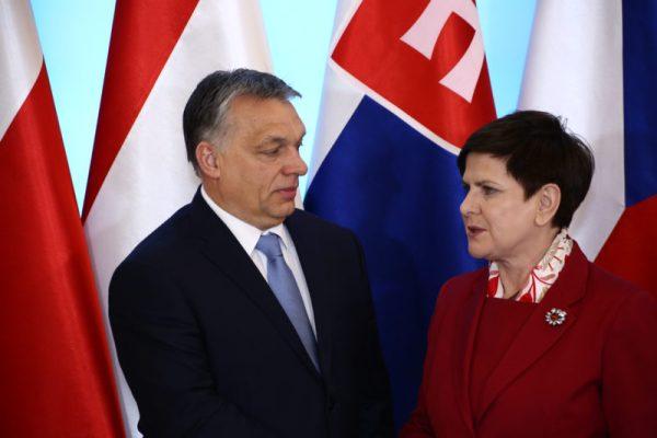 Beata Szydlo and Viktor Orban