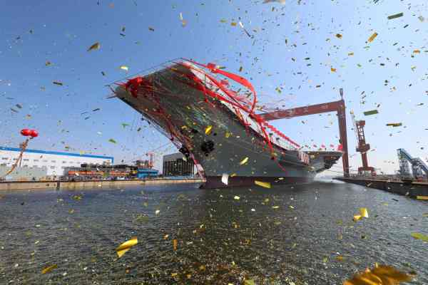 China Launches Aircraft Carrier