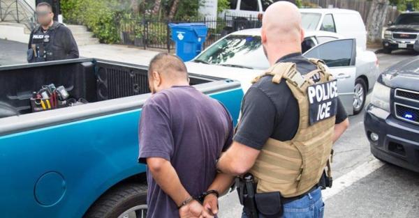 ICE Arrests Immigrant in LA