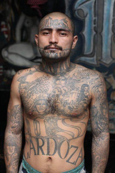 MS-13 Body Tattoos