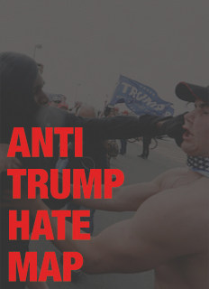 Anti-Trump Hate Map