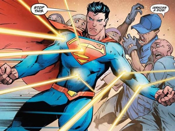 Superman Protects Hispanics