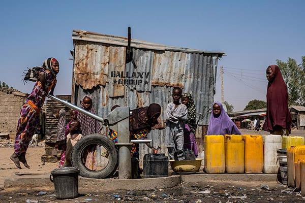 Maiduguri, Nigeria poverty