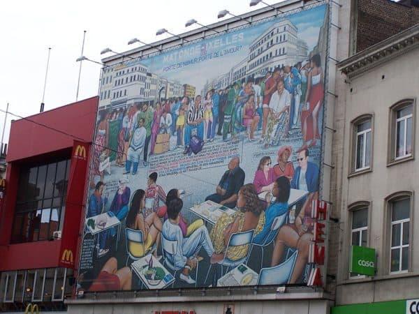 Matongé Mural