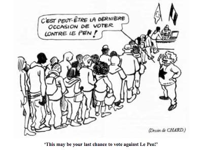 2007 French political cartoon