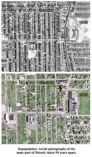 Depopulated Detroit