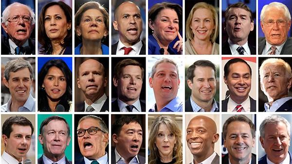 Democratic 2020 Candidates