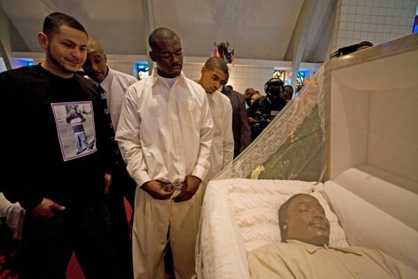 Black Gangster Funeral