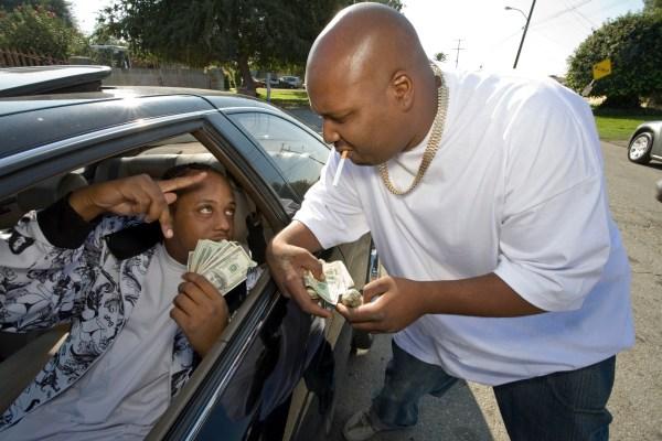 Blacks Making a Drug Deal