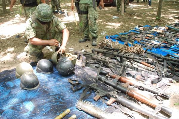 Los Zetas Armory
