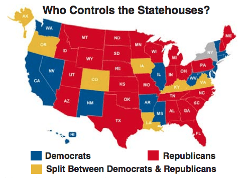 2010 Statehouse Control