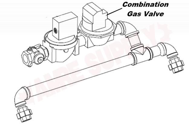 RV0051300 : Laars Gas Valve 24V 1-1/4