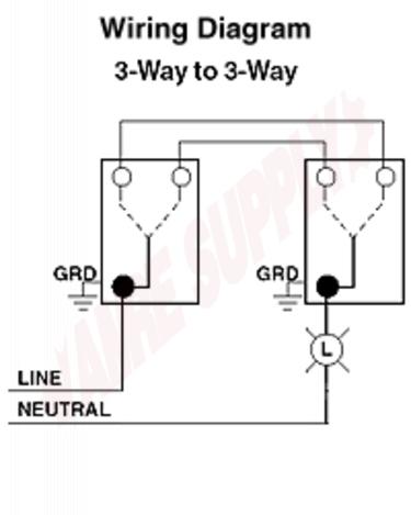 Wiring Diagram Gallery: Leviton Decora 3 Way Switch Wiring