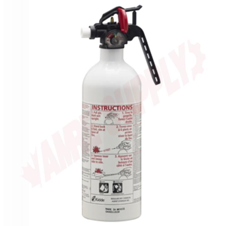 kidde kitchen fire extinguisher door 468031mtl garage 2lb 5 b c photo of