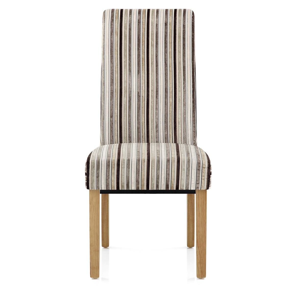 striped dining chair how to recover rocking cushions roma oak and stripe amr furniture