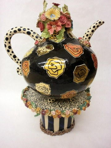Teapots  AnnMarie Robinson Irish Ceramic Artist