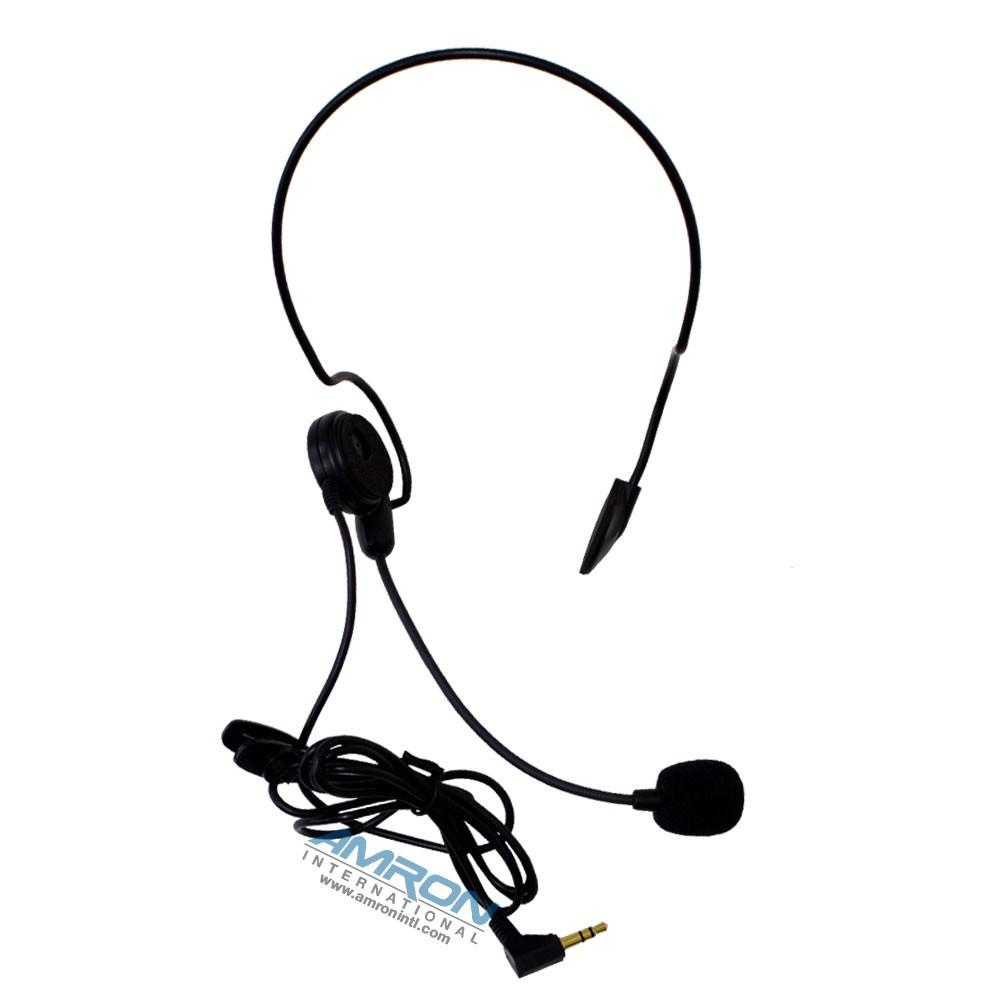 Amron International Remote Wireless Ultra-Light Headset