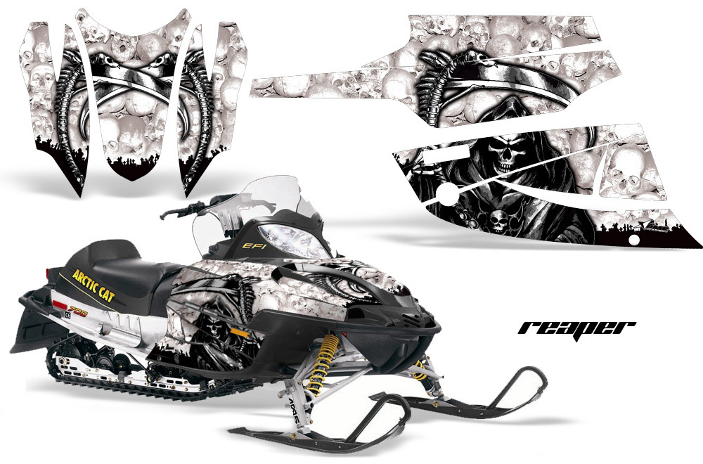 Wraps for Arctic Cat F Series Sabercat Firecat Snowmobile
