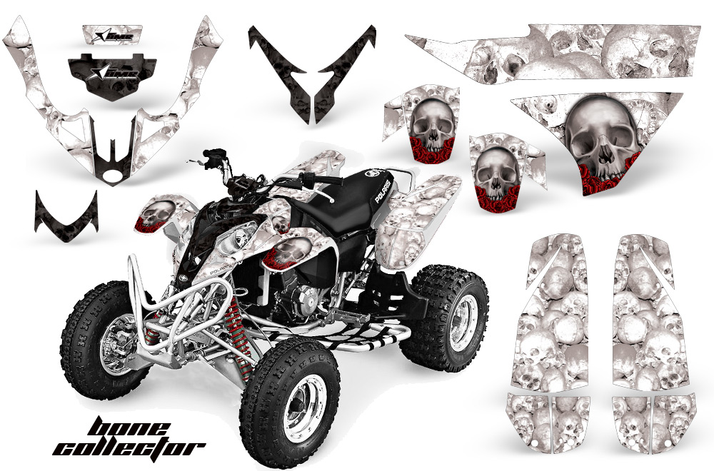 ATV Quad Graphic Sticker Kit for Polaris Predator 500