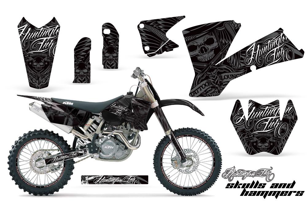 2001-2004 SX, 2003-2004 EXC KTM Motocross Graphic Decal