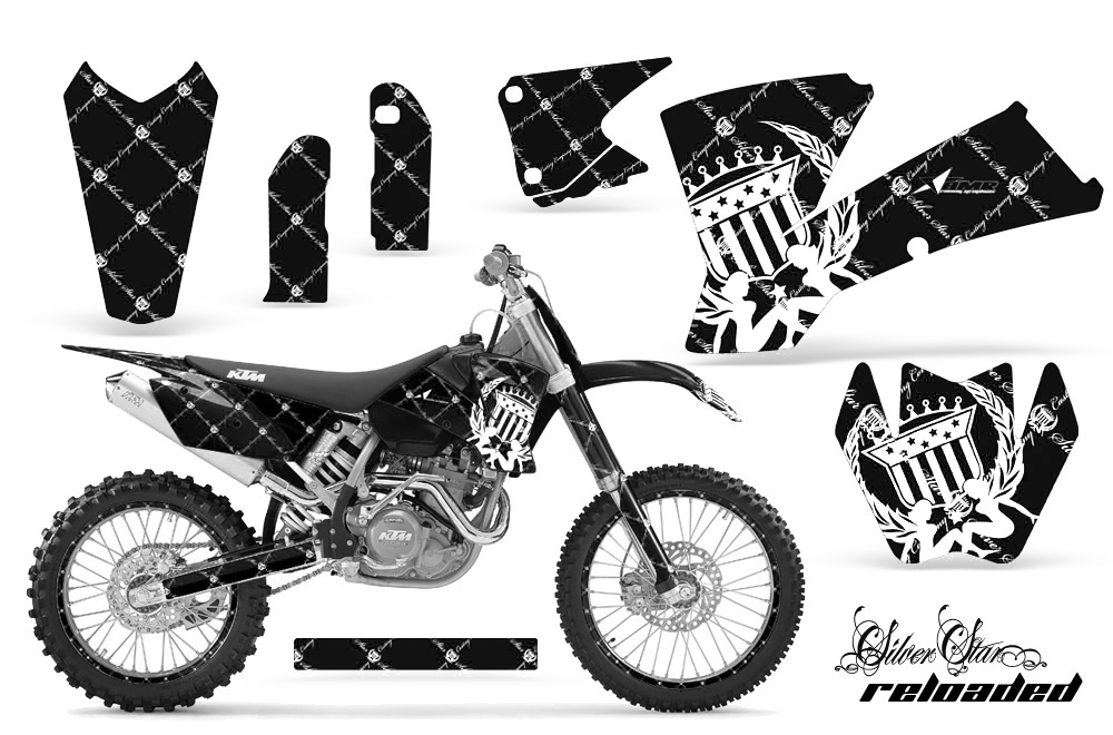 2001-2004 SX, 2003-2004 EXC KTM Motocross Graphic Decal