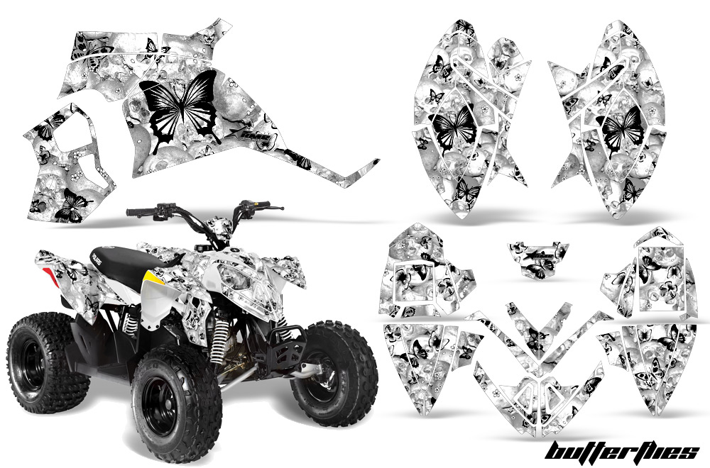 ATV Quad Graphic Sticker Kit for Polaris Outlaw and