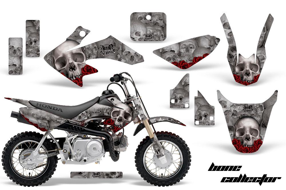 honda crf50 motocross graphic kit 2004 2015 sku 1310